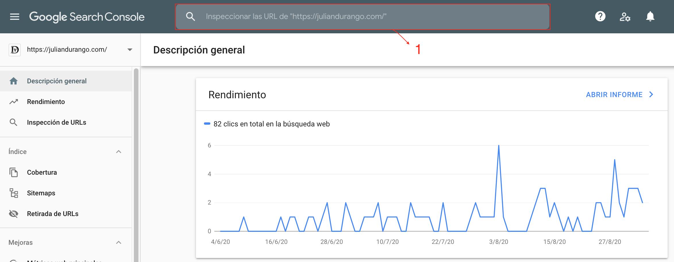 Cómo indexar web en Google